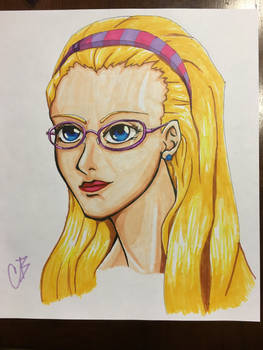 Marker Practice: Smart Girl