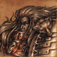 VI Legion - Leman Russ by Noldofinve