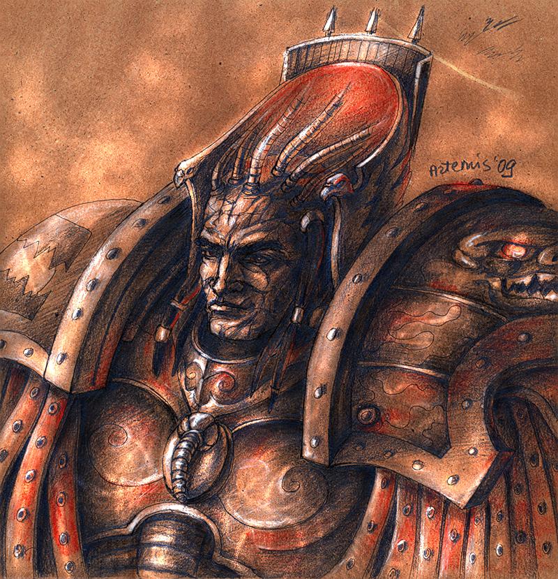 XII Legion - Angron by Noldofinve