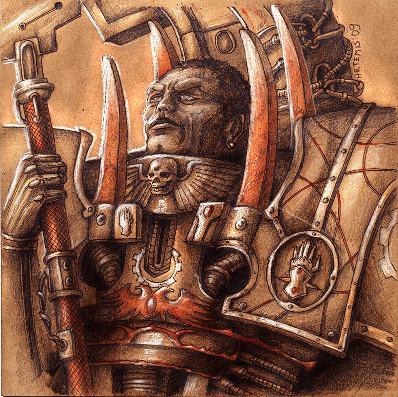 X Legion - Ferrus Manus by Noldofinve