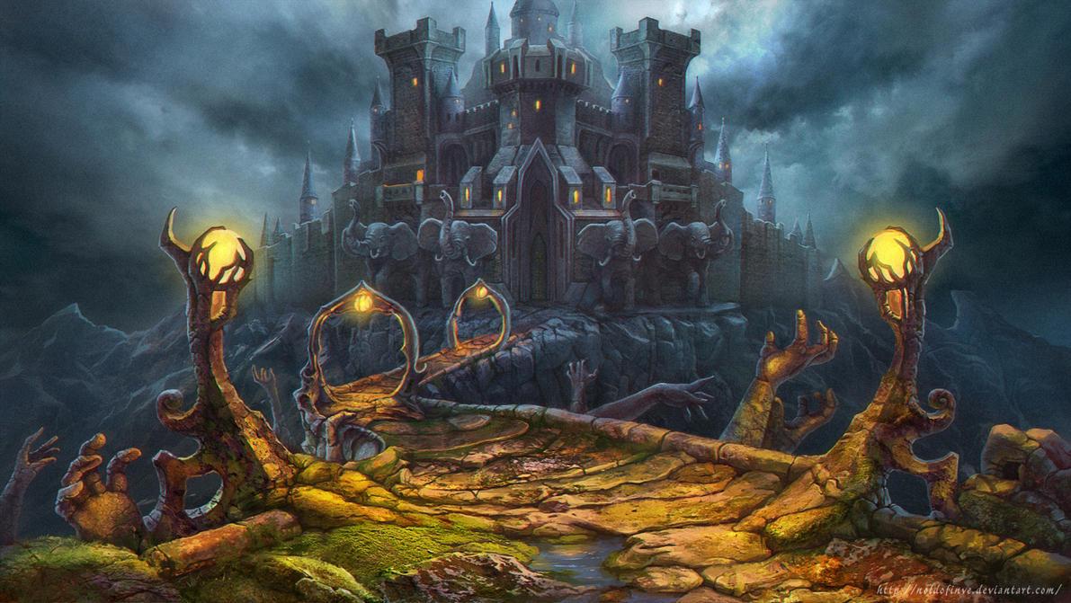 The Castle by Noldofinve
