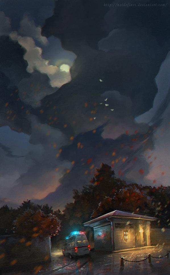 Last ambulance by Noldofinve