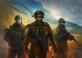 The Border Guards by Noldofinve