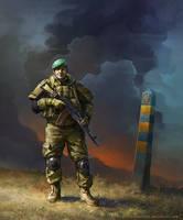 Border Guard II by Noldofinve