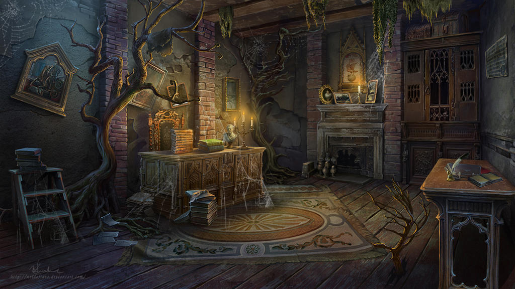 The Old Study by Noldofinve