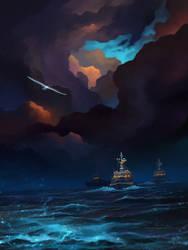 Sailing home by Noldofinve