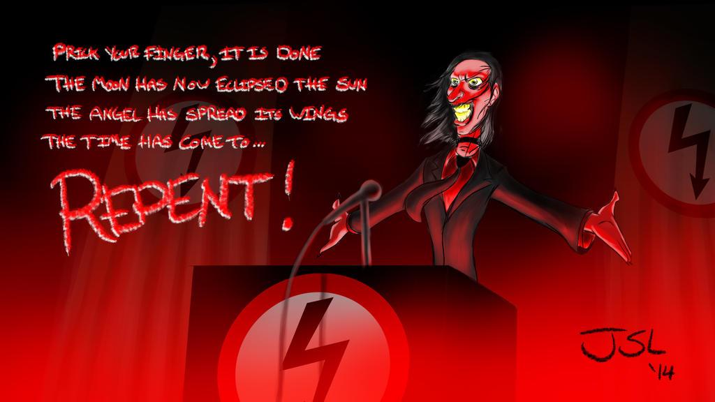 Antichrist superstar by StephenLeotti ...