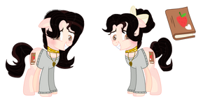 My Ponysona ( Nadhira Mia) by FlowerDreamShy