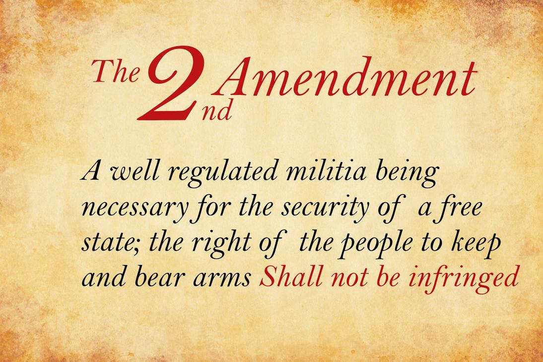 second amendment wallpaper  The Second Amendment by personofinterests on DeviantArt