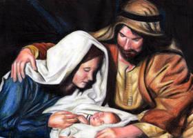 Nativity Scene by irenepk2