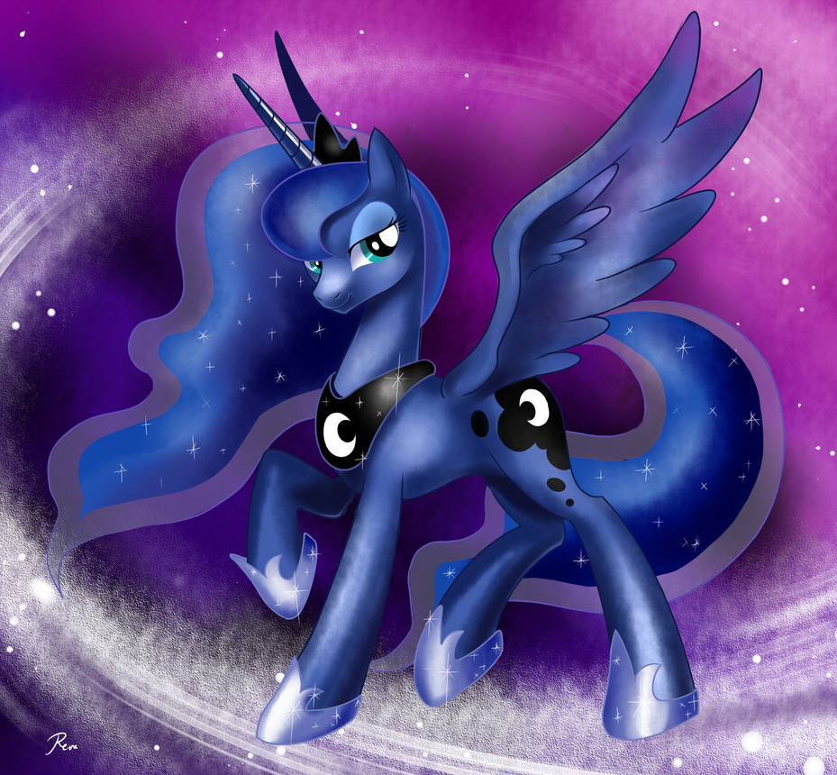 Princess Luna by RenoKim