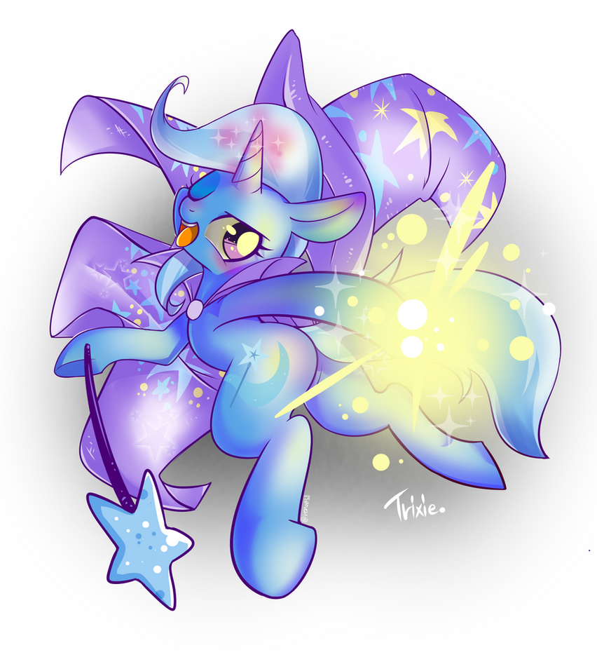 Trixie the great and powerful! by RenoKim