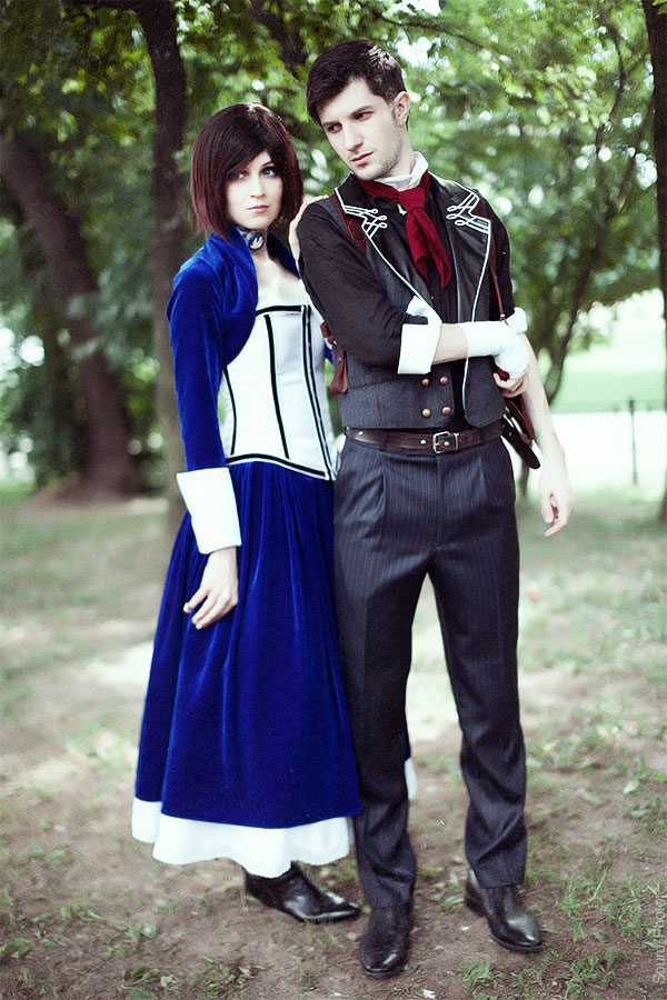 Bioshock: Infinite - Elizabeth and Booker by ver1sa