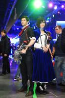 Bioshock: Infinite - Elizabeth and Booker by ver1sa