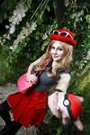 Serena (Pokemon X/Y) - Gotta catch 'em all!