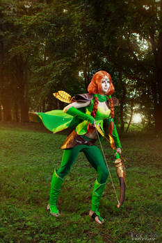 Windranger (DotA 2) - Easy breezy