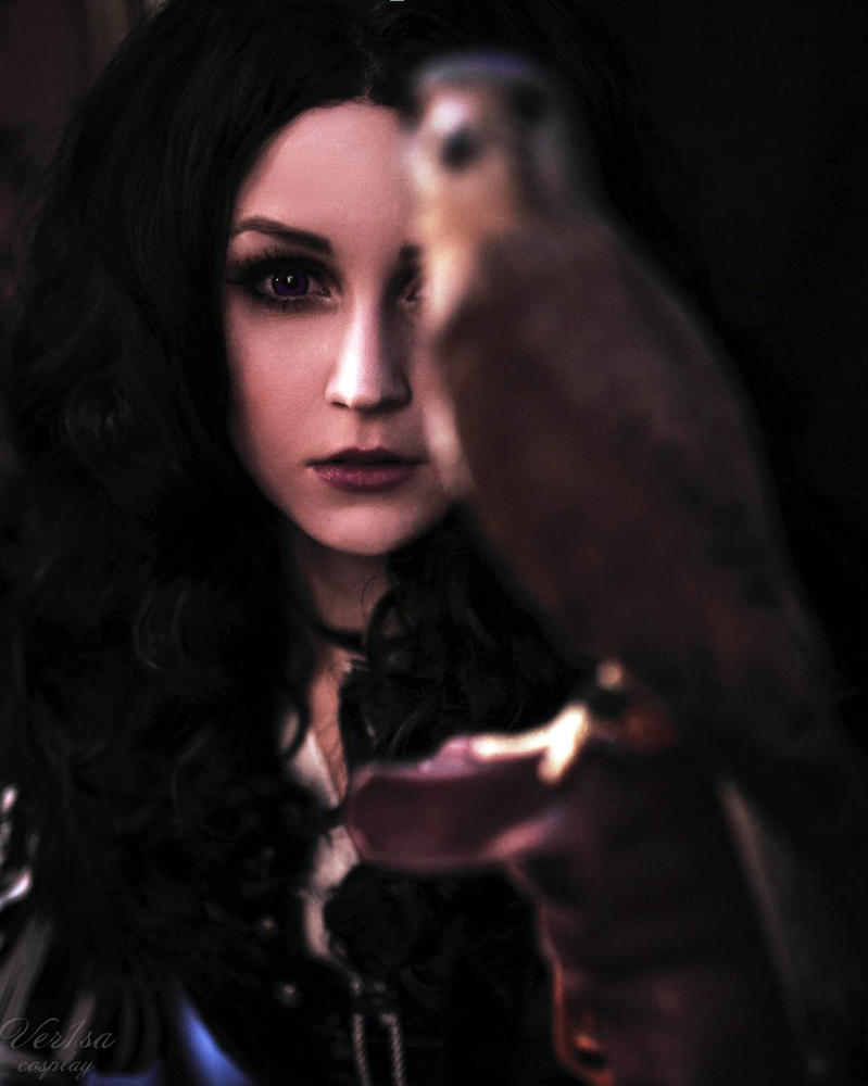 Yennefer - The truth is a shard of ice by ver1sa