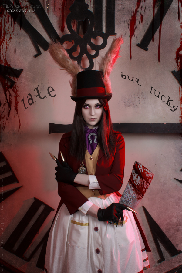 Alice Liddell - Late but Lucky by ver1sa