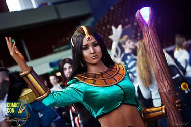 Sorceress from Diablo II
