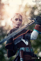 Ciri from The Witcher 3: Wild Hunt cosplay by ver1sa