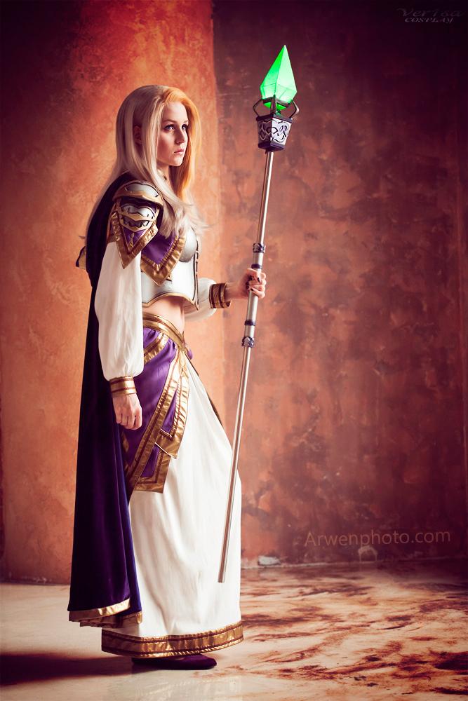 World of Warcraft cosplay - Lady Jaina
