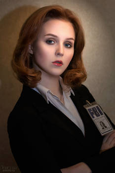 The X-Files - Dana Scully cosplay