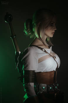 The Witcher cosplay - Cirilla