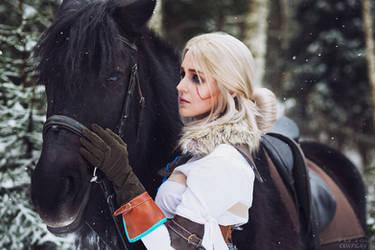 The Witcher 3 - Ciri and Kelpie