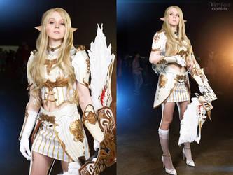 Lineage II Elf cosplay
