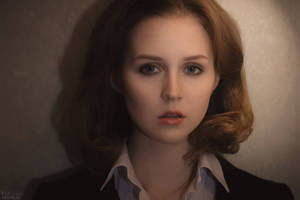 Dana Scully cosplay (X-files)