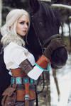 The Witcher 3: Wild Hunt - Ciri cosplay