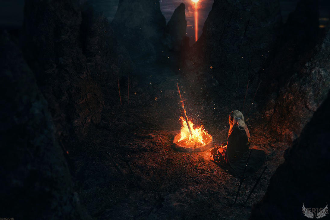 Dark Souls 3 Fire Keeper Cosplay: Fire Keeper Cosplay By Ver1sa On DeviantArt