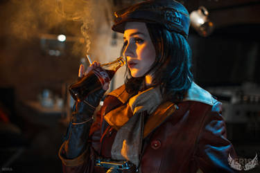 Fallout 4 cosplay - Piper and Nuka Cola