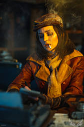 Fallout 4 cosplay - Piper Wright by ver1sa