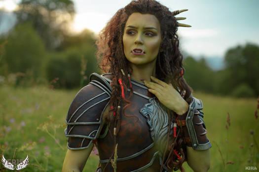 Warcraft movie - Garona cosplay