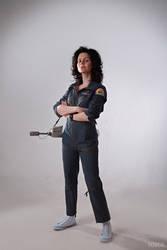 Alien - Ellen Ripley cosplay by ver1sa