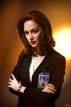 The X-files - Agent Scully