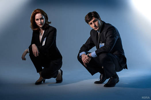 The X-Files - Scully and Mulder