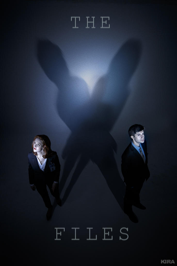 The X-Files cosplay by ver1sa