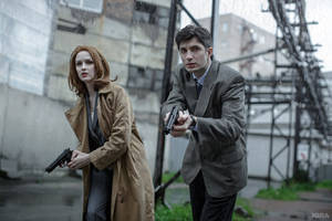 The X-Files - Malder and Scully