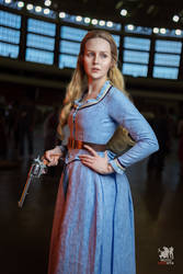Epic Con 2018 - Dolores Abernathy cosplay by ver1sa
