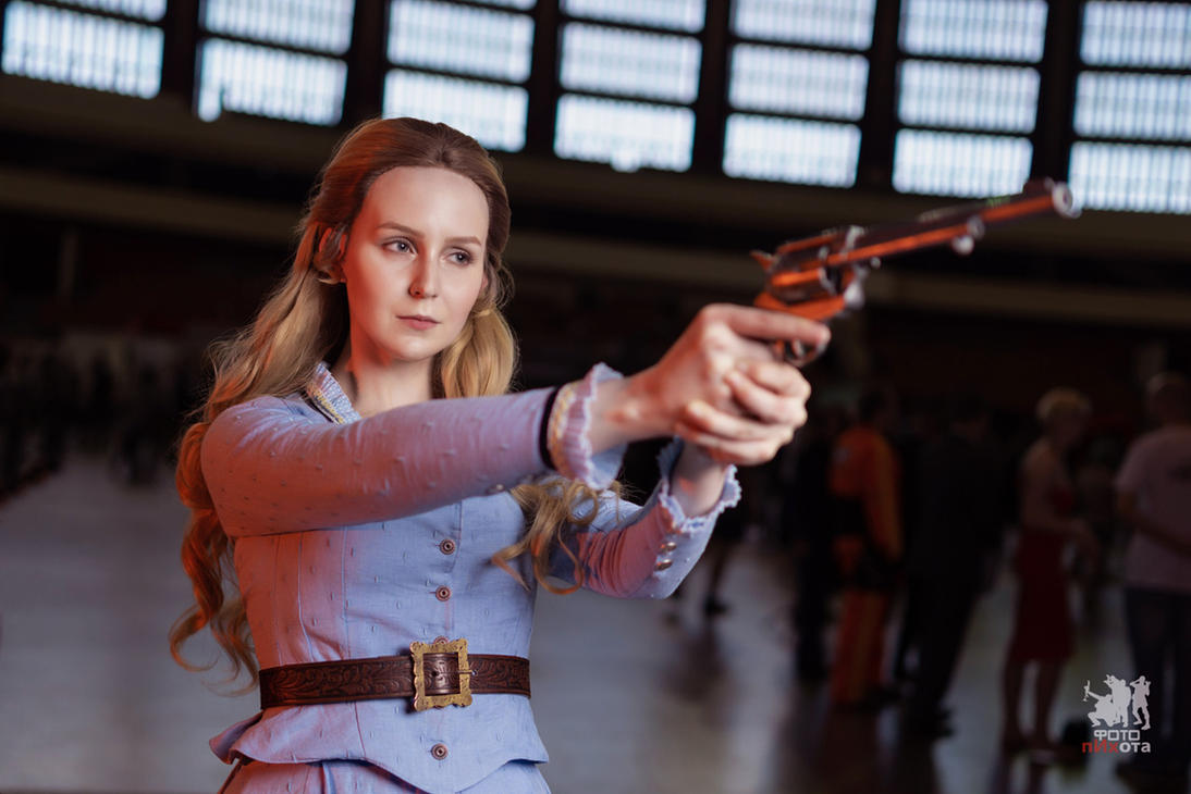Epic Con 2018 - Dolores (Westworld) cosplay by ver1sa