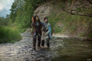 Warcraft movie - Khadgar and Garona