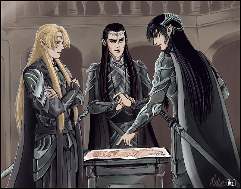 Council of War by MellorianJ