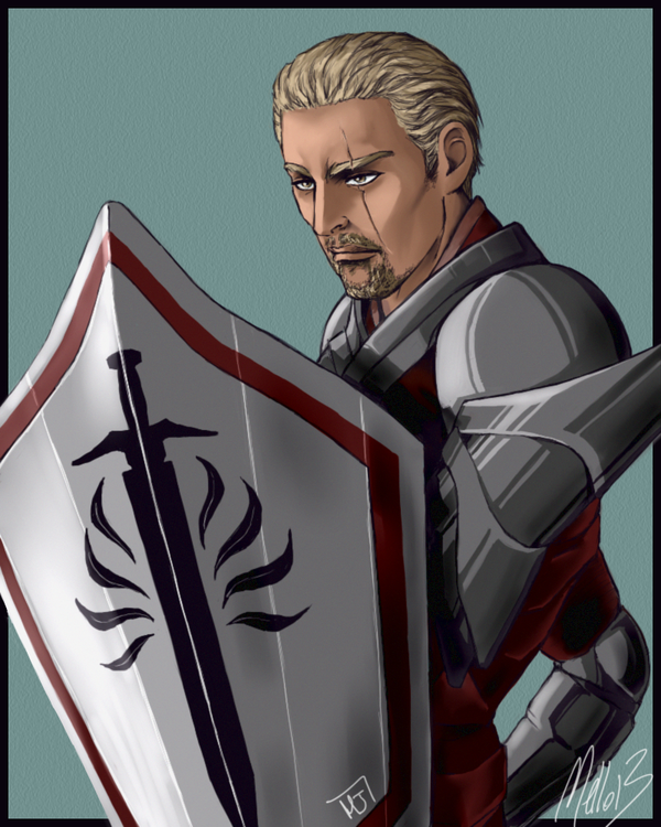 Cullen and Shield (Colored) by MellorianJ