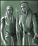 The ElvenKing and his Heir