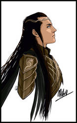 Elrond in armor