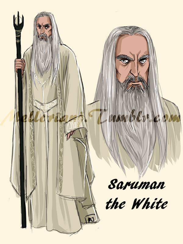 The White Council : Saruman the White by MellorianJ