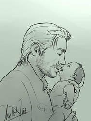 Daddy Cullen by MellorianJ