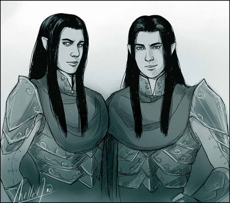 Elladan and Elrohir